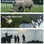 Screenshots fra applikationen GoingDK