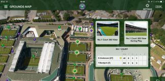 Screenshots fra iPad applikationen