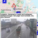 Screenshots fra applikationen Trafikken.dk