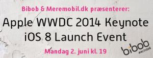 WWDC-dækningen præsenteres i samarbejde med BiBob.dk.