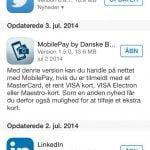 MobilePay applikation