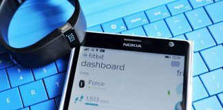 Screenshots af Fitbit på Windows Phone 8.1 (Foto: Windows Phone Central)