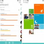 Screenshots af Fitbit på Windows Phone 8.1 (Foto: Windows Phone Central)