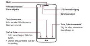 LG G3 S lækket brugermanual