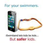 iSwimband skal forsøge at hjælpe med uheld i og ved vandet (Foto: iSwimband)