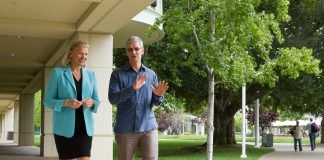 Tim Cook, Apple CEO and Ginni Rometty, IBM CEO today announced a global partnership to transform enterprise mobility through a new class of business apps—bringing IBM's big data and analytics capabilities to iPhone and iPad. Courtesy of Apple/Paul Sakuma