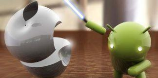 Android vs Apple tabletkamp