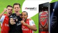 Huawei har netop introduceret en særlig Arsenal Edition af deres populære Ascend P7 smartphone.