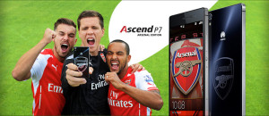 Huawei klar med Ascend P7 i eksklusiv Arsenal Edition