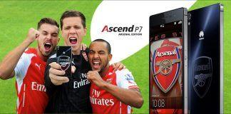 Huawei klar med Ascend P7 i eksklusiv Arsenal Edition