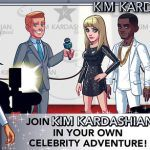 Screenshots fra spillet Kim Kardashian Hollywood