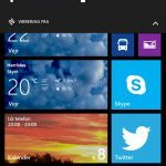 Screenshot fra Lumia 930