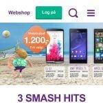 Telias webshop på mobilen