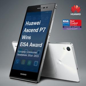 Huawei Ascend P7 vinder EISA-pris 2014