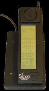 IBM Simon-mobil (Kilde: Wikipedia)