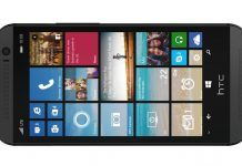 HTC One (M8) med Windows Phone 8.1 (Foto: Verizon)