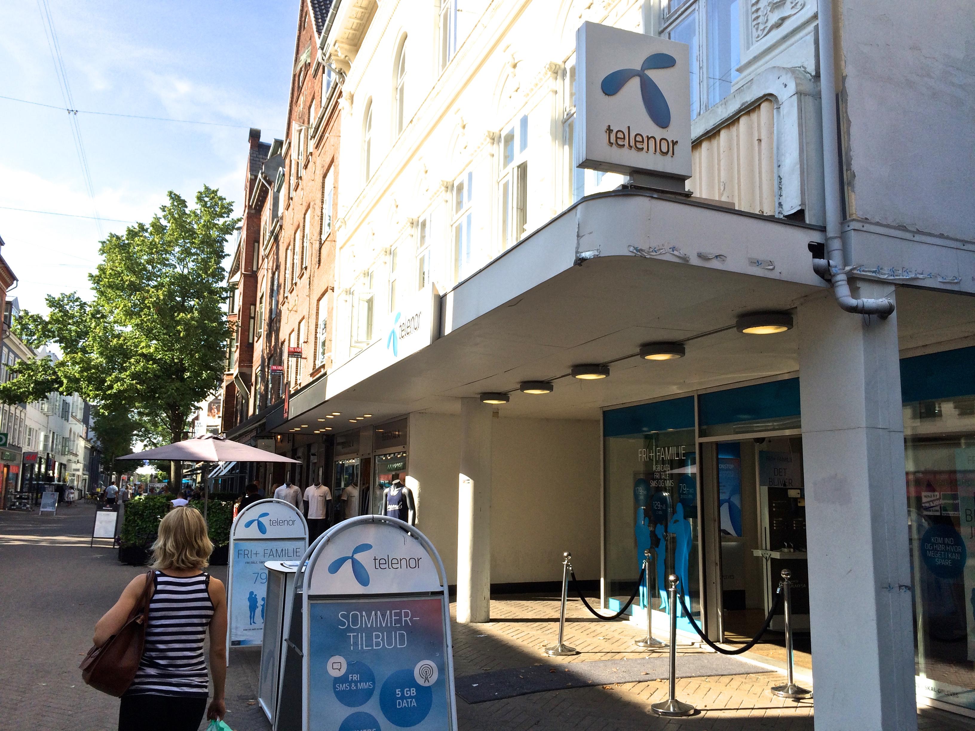 Telenor Forsætter Shop In Shop Strategi