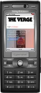 Opera Mini på mobiltelefon