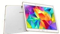 TEST: Galaxy Tab S vinder på sin fantastiske skærm, men taber på Samsungs utallige tilpasninger og tilføjelser i Android-systemet.