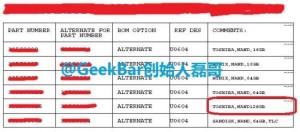 Oversigt over hukommelseschip på iPhone 6 (Kilde: Weibo)