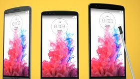 LG G3, LG G3 Beat og LG G3 Stylus