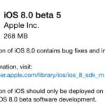 iOS 8 beta 5 (Kilde: Macrumors.com)