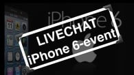 LIVECHAT: Apple afholder iPhone 6-event den 9. september 2014 klokken 19. Her kan du chatte på dansk og se med, mens eventen finder sted.