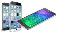 Det trækker op til et topbrag af en kamp. Galaxy Alpha mod iPhone 6 bliver spændende at følge. Læs her hvad du skal forvente.