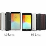 LG Fino og LG Bello (Foto: LG)
