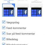 Facebook til Windows Phone