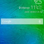 Screenshot fra Samsung Galaxy Alpha