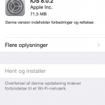 iOS 8.0.2 opdatering