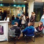 iPhone 6-kø foran Telenor-butikken i Odense
