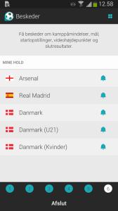 Følg dine favorithold med Forza Football