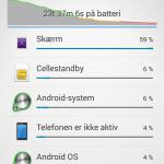 Screenshot fra Sony Xperia Z3