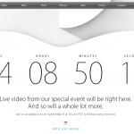 Nedtælling til Apple iPhone 6-event