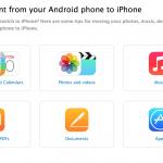 Sådan skifter du fra Android til iPhone (Kilde: Apple)