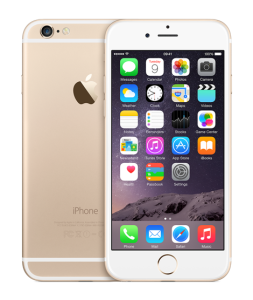 Apple iPhone 6 i guld (Foto: Apple)