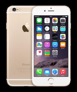 Apple iPhone 6 i guld (Foto: Apple)