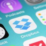 Dropbox på iOS