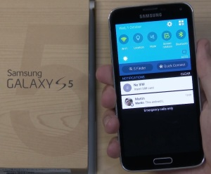 Galaxy S5 med Android 5.0