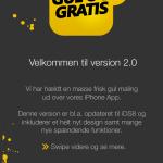 Gul og Gratis app har fået make-over