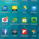 Screenshot fra Samsung Galaxy S5 Mini