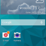 Screenshot fra Samsung Galaxy S5 Mini
