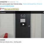 Sundar Pichai og Google teaser for ny Android-version