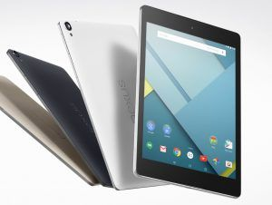 Google Nexus 9 er officiel