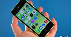 iPhone 5c, bliver det tætteste vi kommer på en billig iPhone, ifølge Apple selv.
