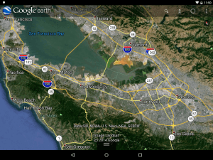 Google Earth før opdatering (foto: Google)