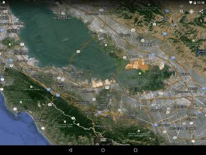 Google Earth efter opdatering (foto: Google)