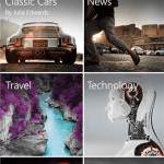 Screenshots Flipboard til Windows Phone